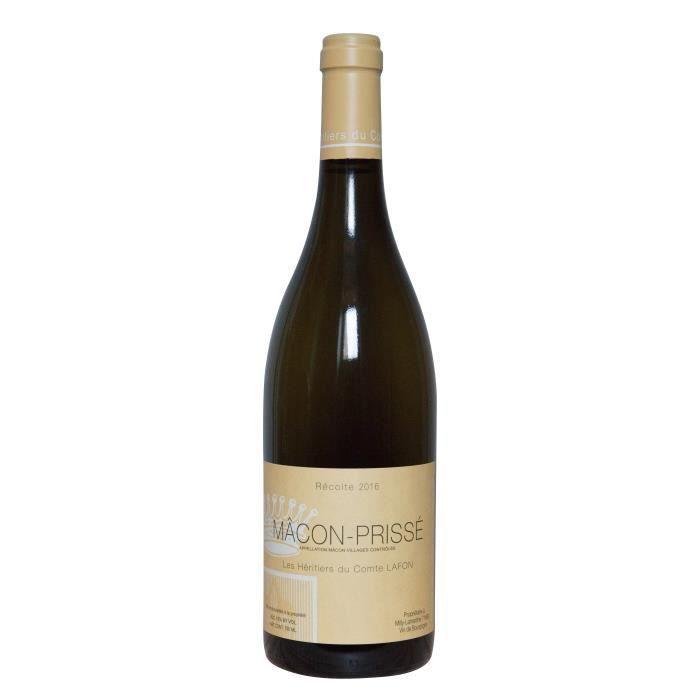 Les Héritiers du Comte Lafon 2016 Mâcon-Prissé - Vin blanc de Bourgogne