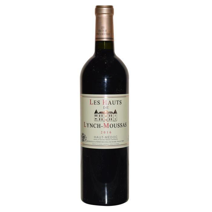 Les Hauts de Lynch Moussas 2016 Haut Médoc - Vin rouge de Bordeaux