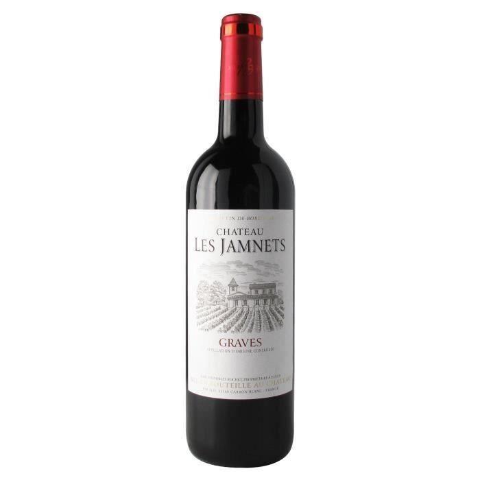 Château Les Jamnets 2016 Graves - Vin rouge de Bordeaux