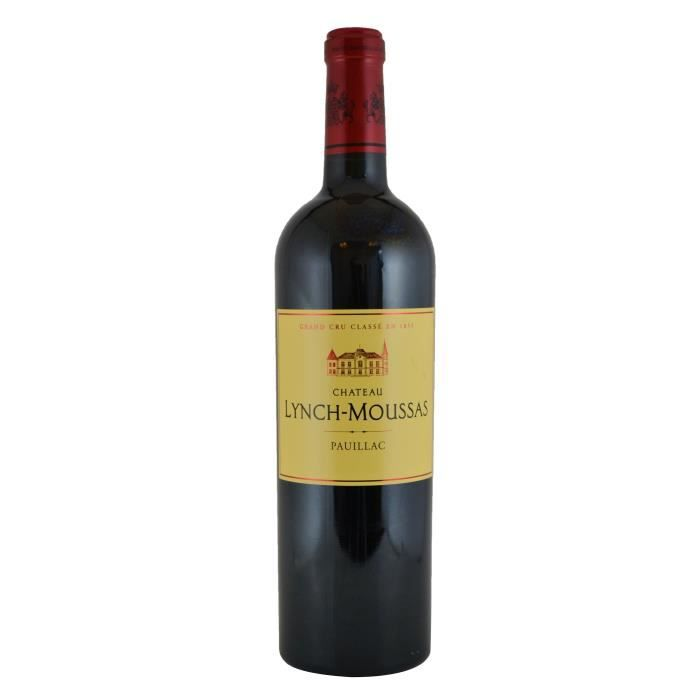Château Lynch-Moussas 2016 Pauillac - Vin rouge de Bordeaux