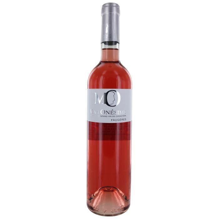 Mas Onesime 2016 Faugères - Vin rosé du Languedoc-Roussillon