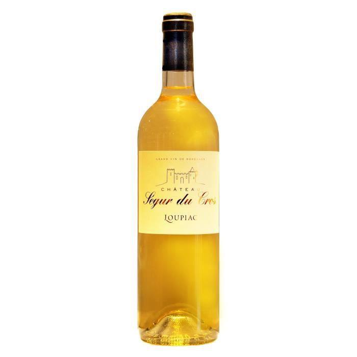Château Ségur du Cros 2018 Loupiac - Vin blanc de Bordeaux