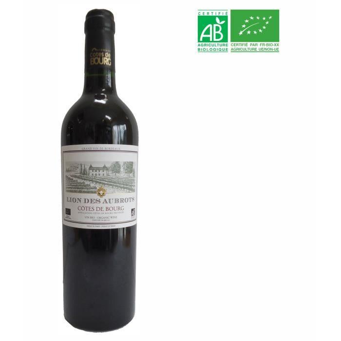 Lion des Aubrots 2017 Côtes de Bourg - Vin rouge de Bordeaux - Bio