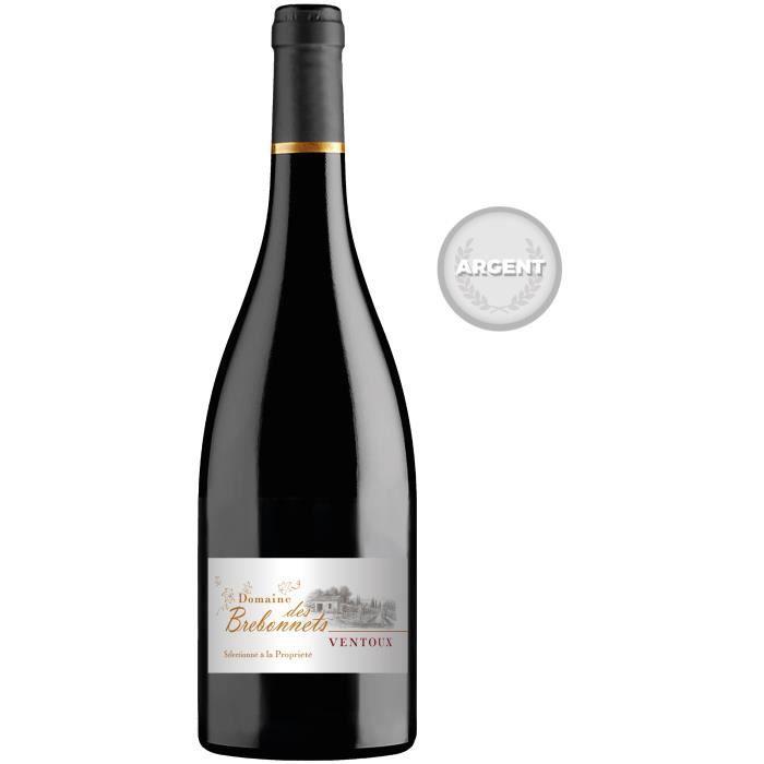 Domaine des Brebonnets 2017 Ventoux - Vin rouge de la Vallée du Rhône
