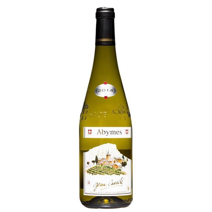 Maison Cavaillé 2018 Abymes Village - Vin Blanc de Savoie