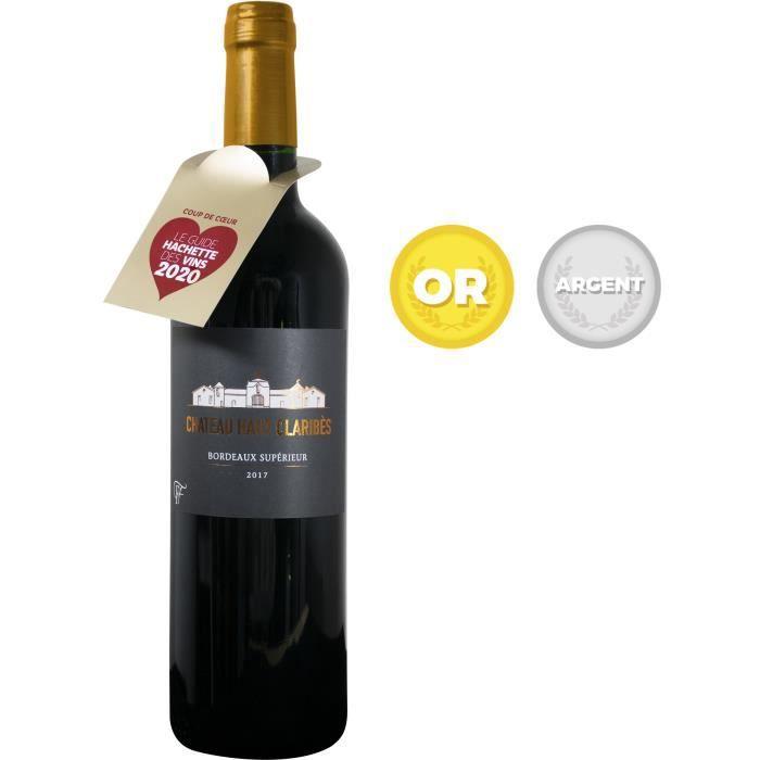 Château Haut Claribès 2017 Bordeaux Supérieur - Vin rouge de Bordeaux