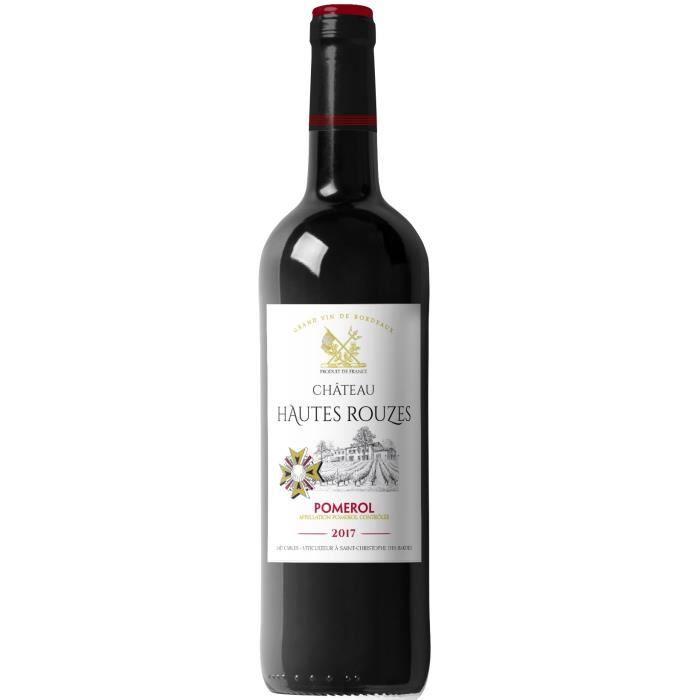 Château Hautes Rouzes 2017 Pomerol - Vin rouge de Bordeaux