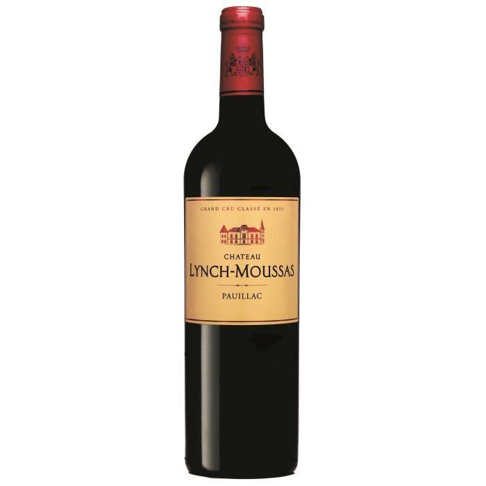 Château Lynch Moussas 2017 Pauillac - Vin rouge de Bordeaux
