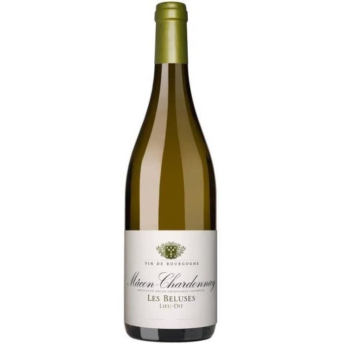 Cave de Lugny 2017 Mâcon-Chardonnay Les Béluses - Vin blanc de Bourgogne