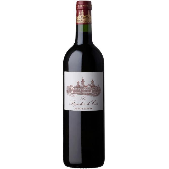 Les Pagodes de Cos 2017 Saint-Estèphe - Vin rouge de Bordeaux