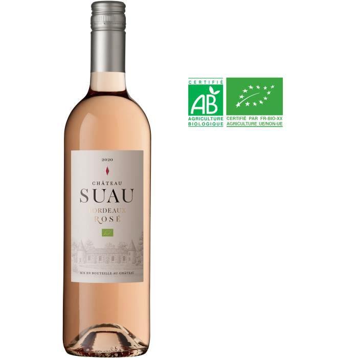 Château Suau 2020 Bordeaux - Vin rosé de Bordeaux - Bio