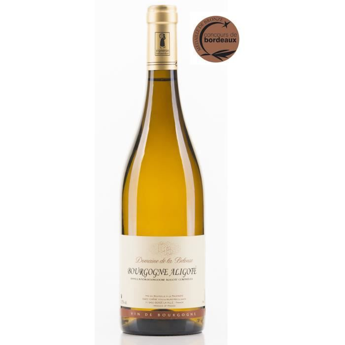 Domaine de la Belouse 2018 Bourgogne Aligoté - Vin blanc de Bourgogne
