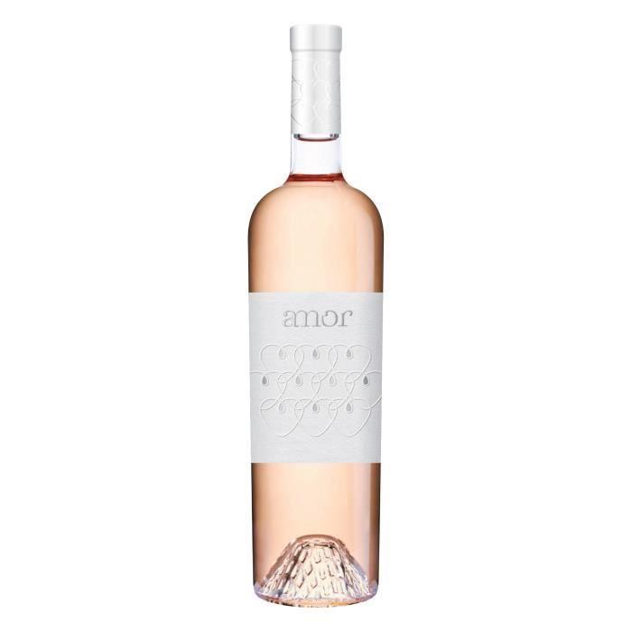 Amor fruité sans IG - Vin rosé de France