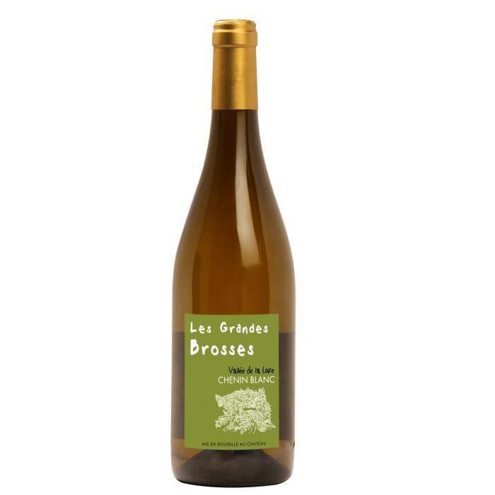 Les Grandes Brosses 2018 Anjou - Vin blanc du Val de Loire