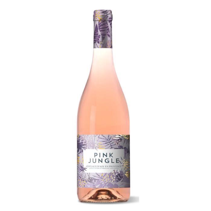 Pink Jungle 2018 Coteaux d'Aix en Provence - Vin rosé de Provence