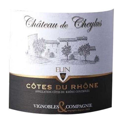 Château Cheylus Cuvée Elin 2018 Côtes du Rhône - Vin rouge de la Vallée du Rhône