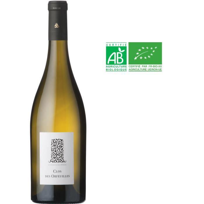 Clos des Orfeuilles 2019 Muscadet Sèvre et Maine sur Lie - Vin blanc de Loire - Bio
