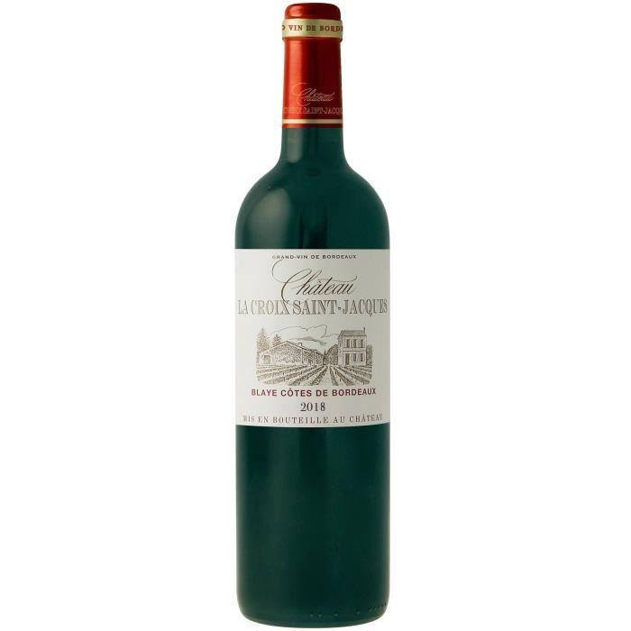 Château La Croix Saint Jacques 2018 Blayes Côtes de Bordeaux - Vin rouge de Bordeaux