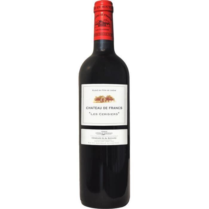 Château Francs Les Cerisiers 2018 Bordeaux - Vin rouge de Bordeaux