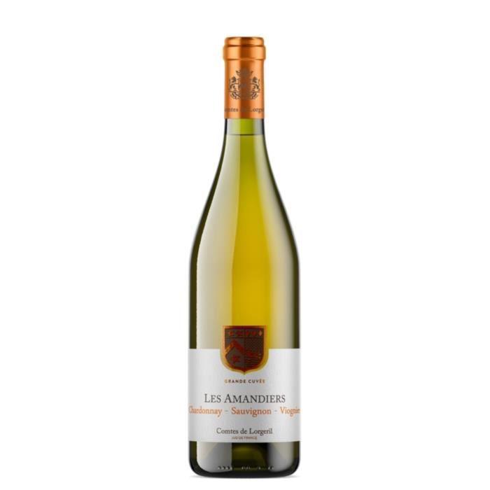 Les Amandiers2018 IGP Pays d'Oc - Vin rouge du Languedoc Roussillon