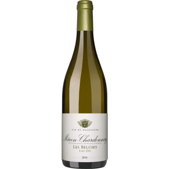 Cave de Lugny 2018 Mâcon-Chardonnay Les Béluses - Vin blanc de Bourgogne
