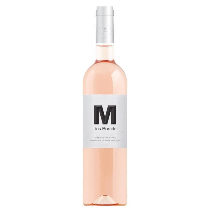 M des Borrels Côtes de Provence - Vin rosé de Provence