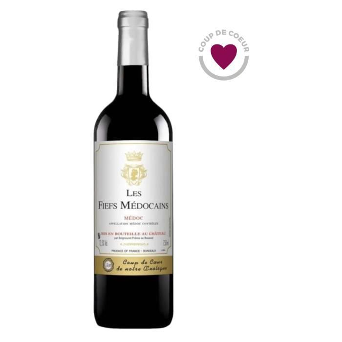 Les Fiefs Médocains 2018 Médoc - Vin rouge de Bordeaux
