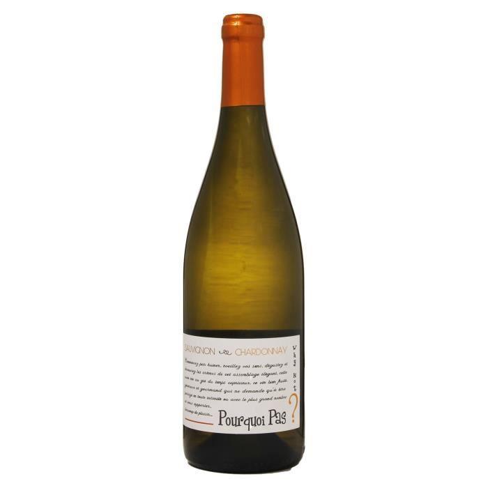 POURQUOI PAS ? Sauvignon - Chardonnay 2018 IGP Val de loire - Vin Blanc