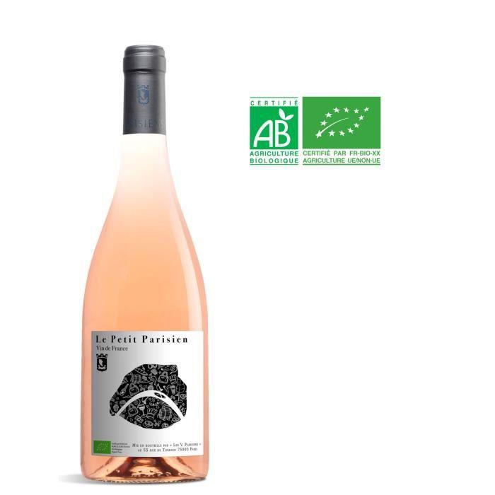 Les Vignerons Parisiens Le Petit Parisien 2018 Vin de France - Vin rosé de Paris - Bio