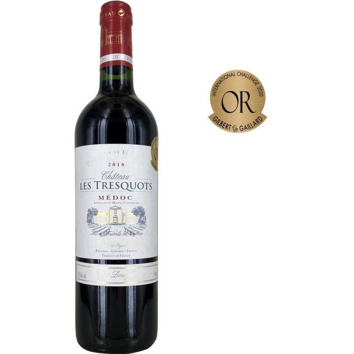 Château Les Tresquots 2018 Médoc Cru Bourgeois - Vin rouge de Bordeaux