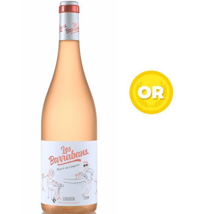 Les Barrabans 2019 Luberon - Vin rosé de la Vallée du Rhône