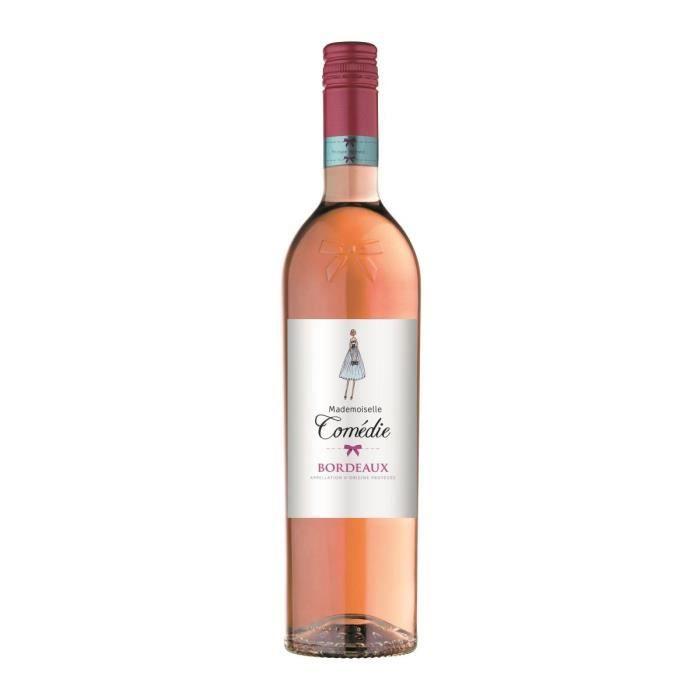 Mademoiselle Comédie 2019 Bordelais - Vin rosé de Bordeaux