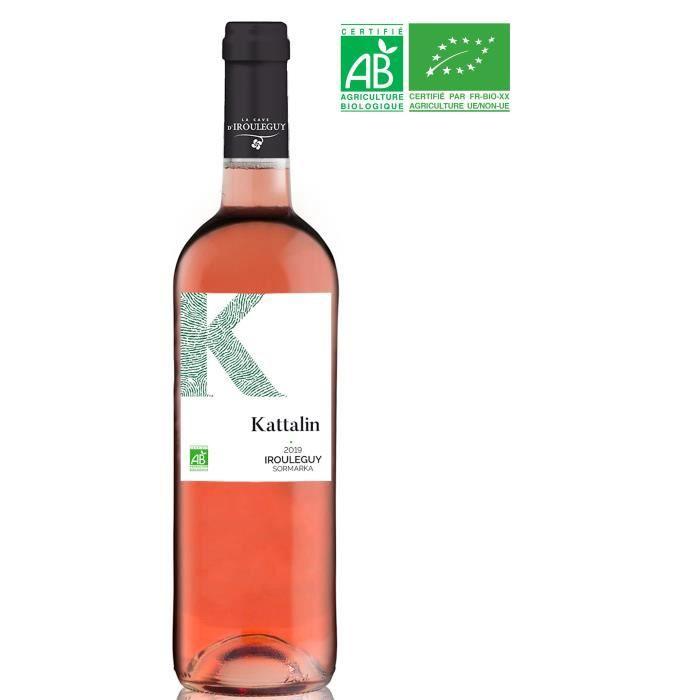 La Cave d'Irouléguy 2019 Irouléguy - Vin rosé du Sud-Ouest - Bio