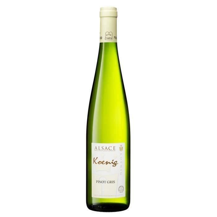 Koenig 2019 Alsace Pinot Gris - Vin blanc d'Alsace
