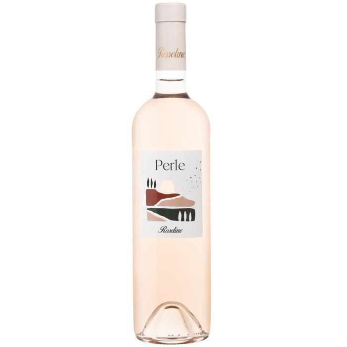 Perle de Roseline Diffusion 2019 Méditerranée - Vin rosé de Provence
