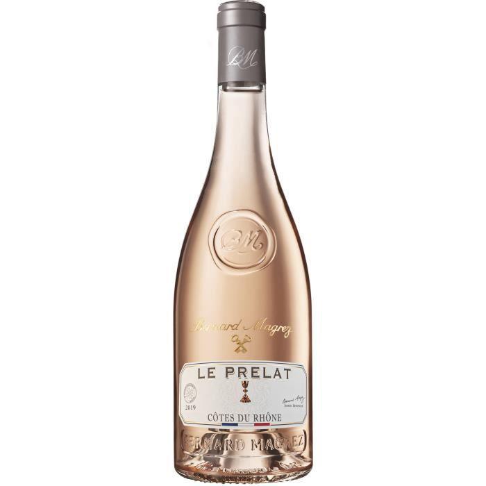 Bernard Magrez Le Prelat 2019 Côtes du Rhône Villages - Vin rosé de la Vallée du Rhône
