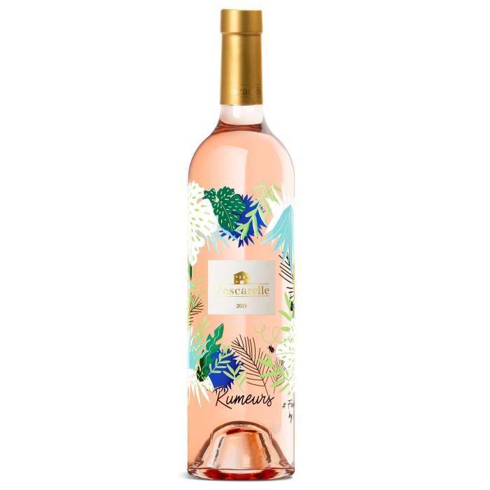 Rumeurs 2019 IGP Méditérannée - Vin rosé