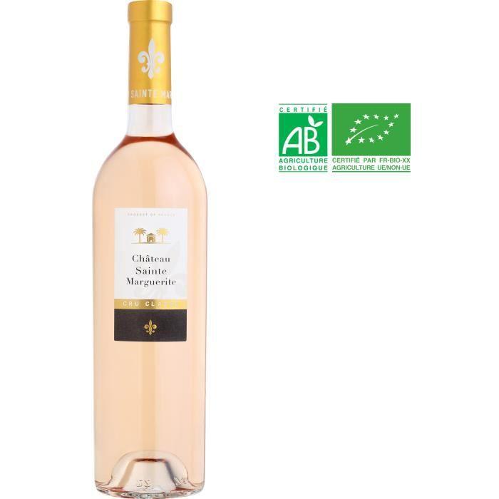 Château Sainte Marguerite 2019 Côtes de Provence - Vin rosé de Provence - Bio