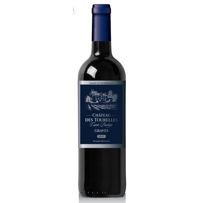 Château des Tourelles 2019 Graves - Vin rouge de Bordeaux