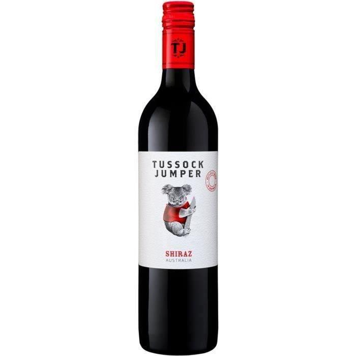 Tussock Jumper 2019 Shiraz - Vin rouge d'Australie