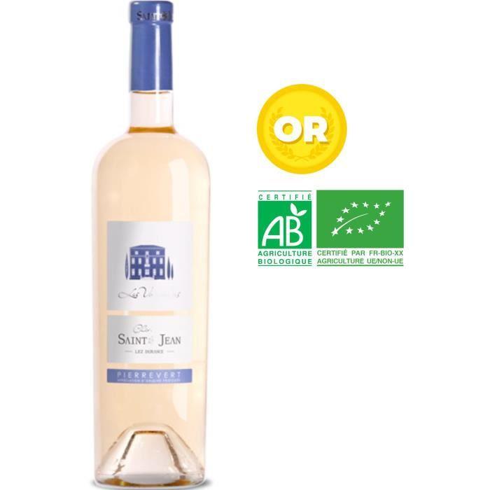 Château Saint Jean Les Vannades 2019 Pierrevert - Vin rosé de Provence - Bio