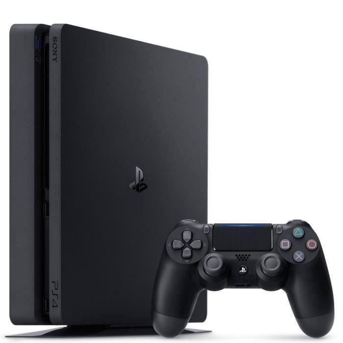 Console PS4 Slim 500Go Noire/Jet Black - Châssis F - PlayStation Officiel