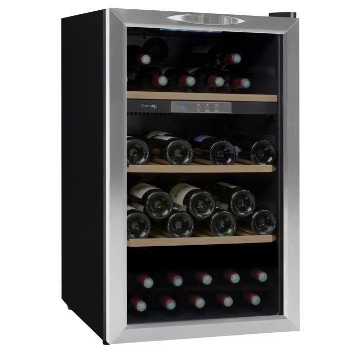 CLIMADIFF CLS50 - Cave à vin de service - 52 bouteilles - Pose libre - Classe B - L 49,5 x H 84,8 cm