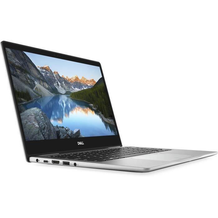 DELL PC portable Inspiron 13-7370 - 13,3- FHD - Core i7-8550U - RAM 16Go - Stockage 512 Go SSD - Windows 10