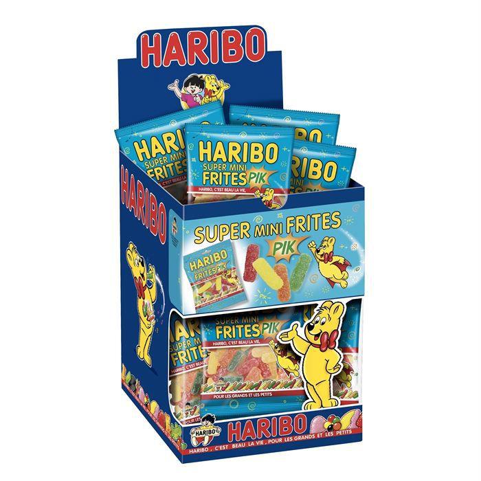 HARIBO Frites 30 Mini Sachets