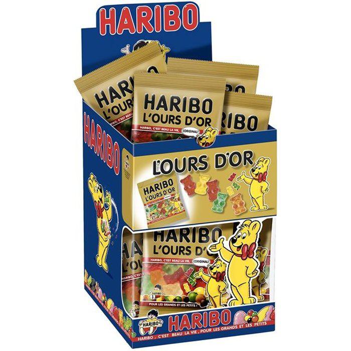 HARIBO L'Ours d'Or 30 Mini Sachets