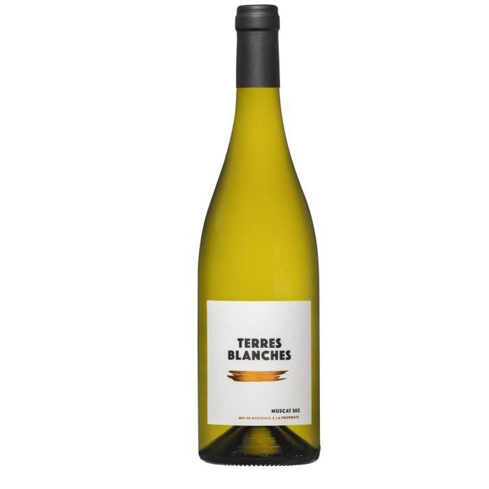 Terres Blanches Muscat sec Vin blanc d'Alsace 75 cl