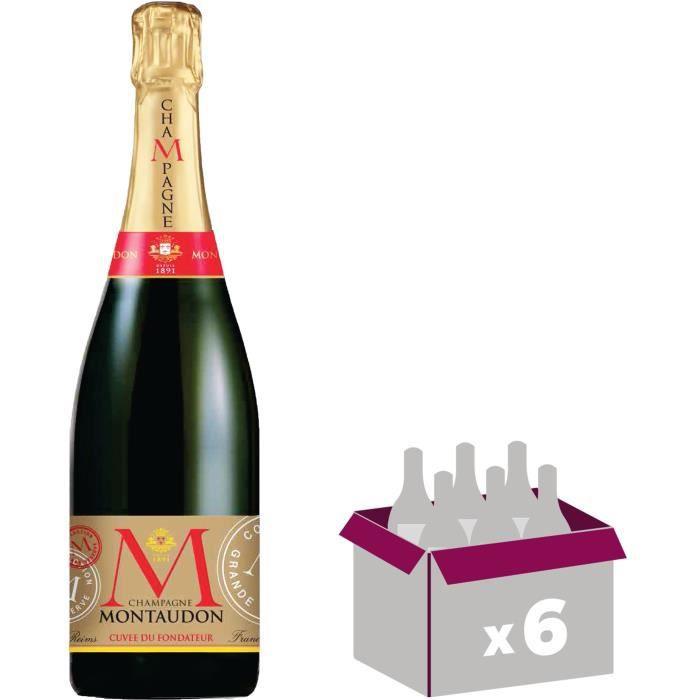 Champagne Montaudon Cuvée A. Louis x6