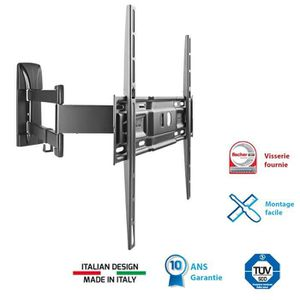 MELICONI 400 SDR Support TV mural orientable 40\