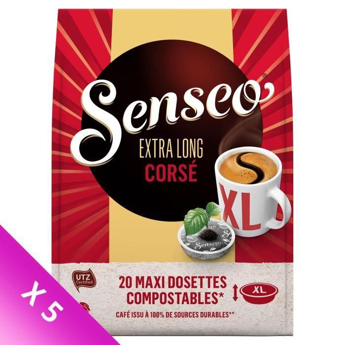 Lot de 5 - Senseo Café Corsé XL x20 - 250g